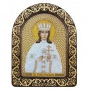 Набор для вышивки иконы в рамке-киоте Св. Вмц. Екатерина Александрийская
