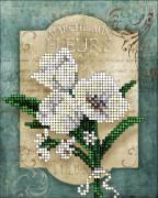 Набор для вышивки ювелирным бисером Цветы 2