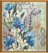 Набор для вышивки в смешанной технике Цветы добра