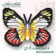 Набор-магнит для выкладки алмазной мозаикой Алая Изабель Art Solo БАТ21