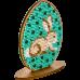 Набор для вышивки бисером по дереву Писанка кролик Волшебная страна FLK-257