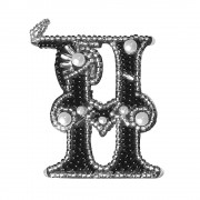 Набор для вышивки подвеса Буква Н