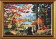 Набор для вышивки крестом Осень в долине