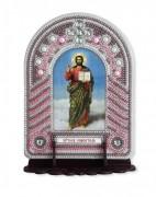 Набор для вышивки иконы с рамкой-киотом Христос Спаситель