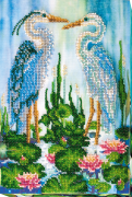 Набор для вышивания бисером Цапли
