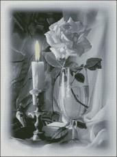 Схема вышивки бисером на атласе Побачення Эдельвейс А-2-006 атлас