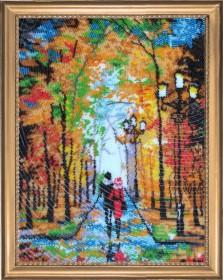 Набор для вышивки бисером Романтическая прогулка (по картине О. Дарчук) Баттерфляй (Butterfly) 482Б - 528.00грн.