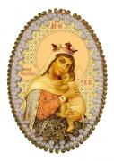 Набор для изготовления подвески Богородица Отчаянных Единая Надежда