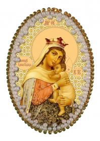 Набор для изготовления подвески Богородица Отчаянных Единая Надежда Zoosapiens РВ3202 - 135.00грн.