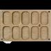 Органайзер для бисера многоярусный с крышкой FLZB-083 Волшебная страна FLZB-083