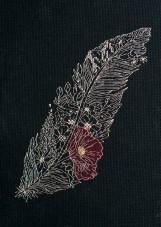 Набор для вышивки крестом Перо 1 Абрис Арт АН-077
