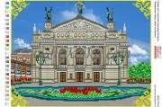 Схема для вышивки бисером на атласе Львовський театр опери та балету