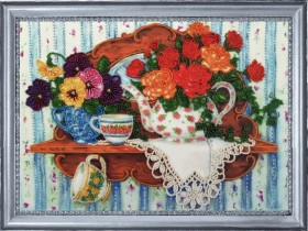 Набор для вышивки бисером Чайная фантазия