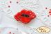 Набор для вышивки броши велюре Мак Tela Artis (Тэла Артис) Б-008ТА