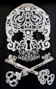 Набор для вышивки бисером на габардине Магические ключи бессмертия