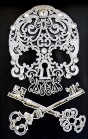 Набор для вышивки бисером на габардине Магические ключи бессмертия Миледи НЮ-081 - 447.00грн.