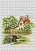 Набор для вышивки крестом Летний пейзаж