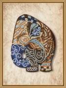 Набор для вышивки бисером на габардине Индийский слон