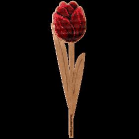 Набор для вышивки по дереву Красный тюльпан Волшебная страна FLK-201 - 109.00грн.