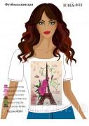 Женская футболка для вышивки бисером Ф 33