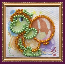 Набор - магнит для вышивки бисером Черепашка Абрис Арт АММ-033 - 19.00грн.