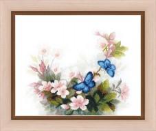 Набор для вышивания крестом Тайна утренней росы Cristal Art ВТ-157