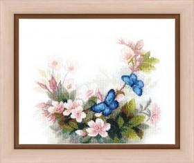 Набор для вышивания крестом Тайна утренней росы Cristal Art ВТ-157 - 207.00грн.