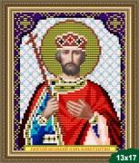 Рисунок на ткани для вышивки бисером Константин Великий