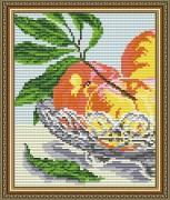 Набор для выкладки алмазной мозаикой В хрустале.Персики Диптих 1