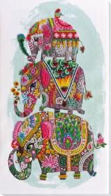 Набор для вышивки бисером Три слона на счастье Абрис Арт АВ-605 - 431.00грн.