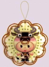 Набор для изготовления игрушки из фетра для вышивки бисером Телец Баттерфляй (Butterfly) F122 - 54.00грн.