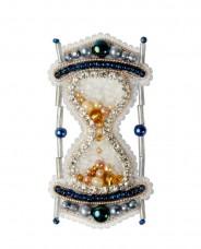 Брошь из бисера Песочные часы Чарiвна мить (Чаривна мить) БП-306