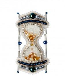 Брошь из бисера Песочные часы Чарiвна мить (Чаривна мить) БП-306 - 185.00грн.