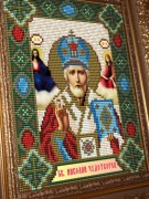 Набор для выкладки алмазной мозаикой Николай Чудотворец