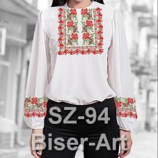 Заготовка для вышивки бисером Сорочка женская Biser-Art Сорочка жіноча SZ-94 (льон)