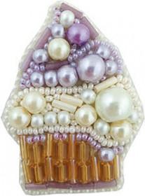 Набор для изготовления броши Пироженко Cristal Art БП-234 - 95.00грн.