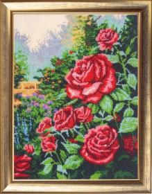 Набор для вышивки бисером Розовый сад, , 529.00грн., 154Б, Баттерфляй (Butterfly), Цветы