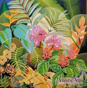 Схема для вышивки бисером Сокровища джунглей