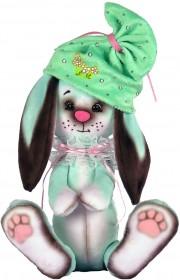 Набор для шитья мягкой игрушки Зайчонок в голубом