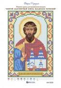 Рисунок на ткани для вышивки бисером Святой Владислав