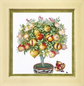 Набор для вышивки в смешанной технике Плоды Карфагена  Cristal Art ВТ-1015 - 228.00грн.