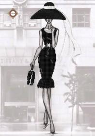Схема для вышивки бисером на атласе Бриллиантовая роскошь