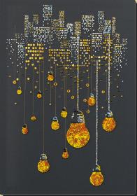 Набор для вышивки бисером на натуральном художественном холсте Ламповый вечер Абрис Арт АВ-811 - 446.00грн.