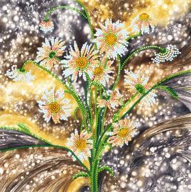 Схема вышивки бисером на холсте Солнечные блики, , 53.00грн., АС-548, Абрис Арт, Цветы