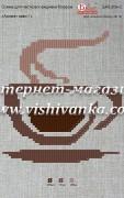 Схема для вышивки бисером на атласе Аромат кави-1