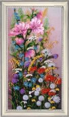 Набор для вышивки бисером Полевые цветы Баттерфляй (Butterfly) 244Б