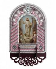 Набор для вышивки иконы с рамкой-киотом Воскресение Господа Иисуса Христа  Новая Слобода (Нова слобода) ВК1012