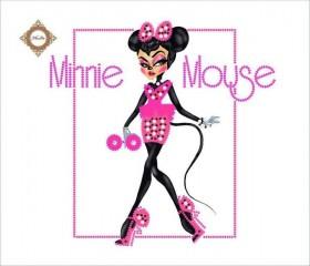 Пошитый клатч для вышивки бисером  Glamour Minnie, , 430.00грн., КС-011, Миледи, Наборы для вышивки косметичек