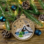 Набор для вышивки бисером по дереву FLK-366