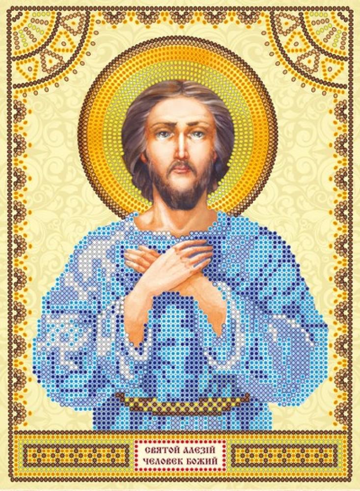 Схема для вышивки бисером на холсте Святой Алексей Абрис Арт АСК-003 ... f05ecf5350416